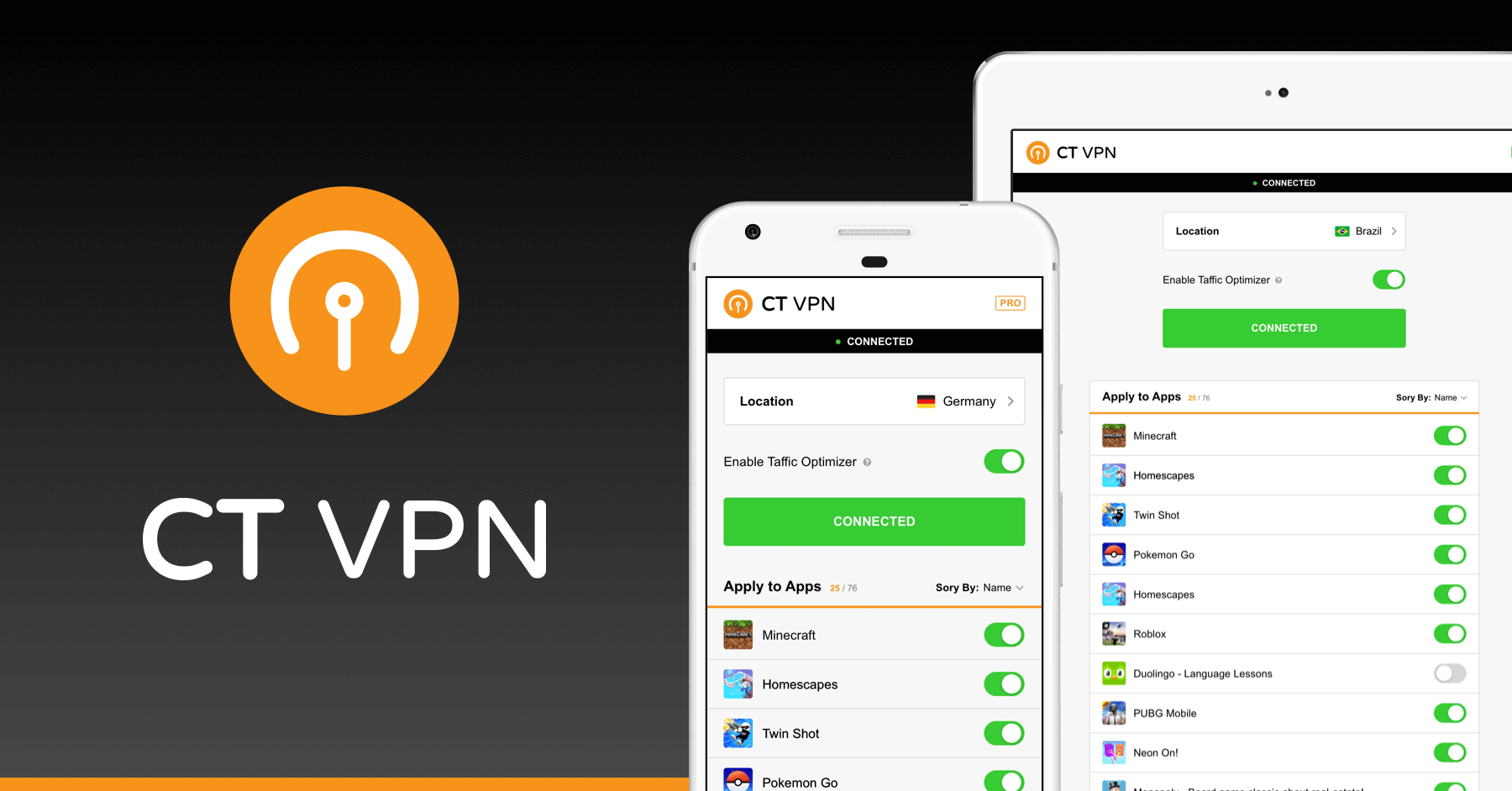 CryptoTab VPN—accesso illimitato alla rete globale